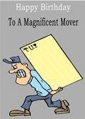 Mover - Greeting Card